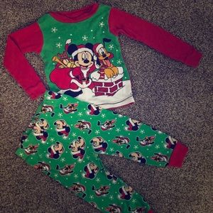 Mickey Mouse Christmas Pajamas